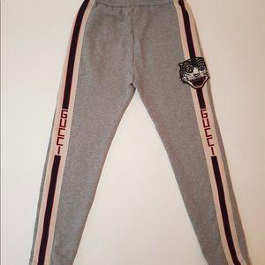 Gucci Gray Track Long Pants